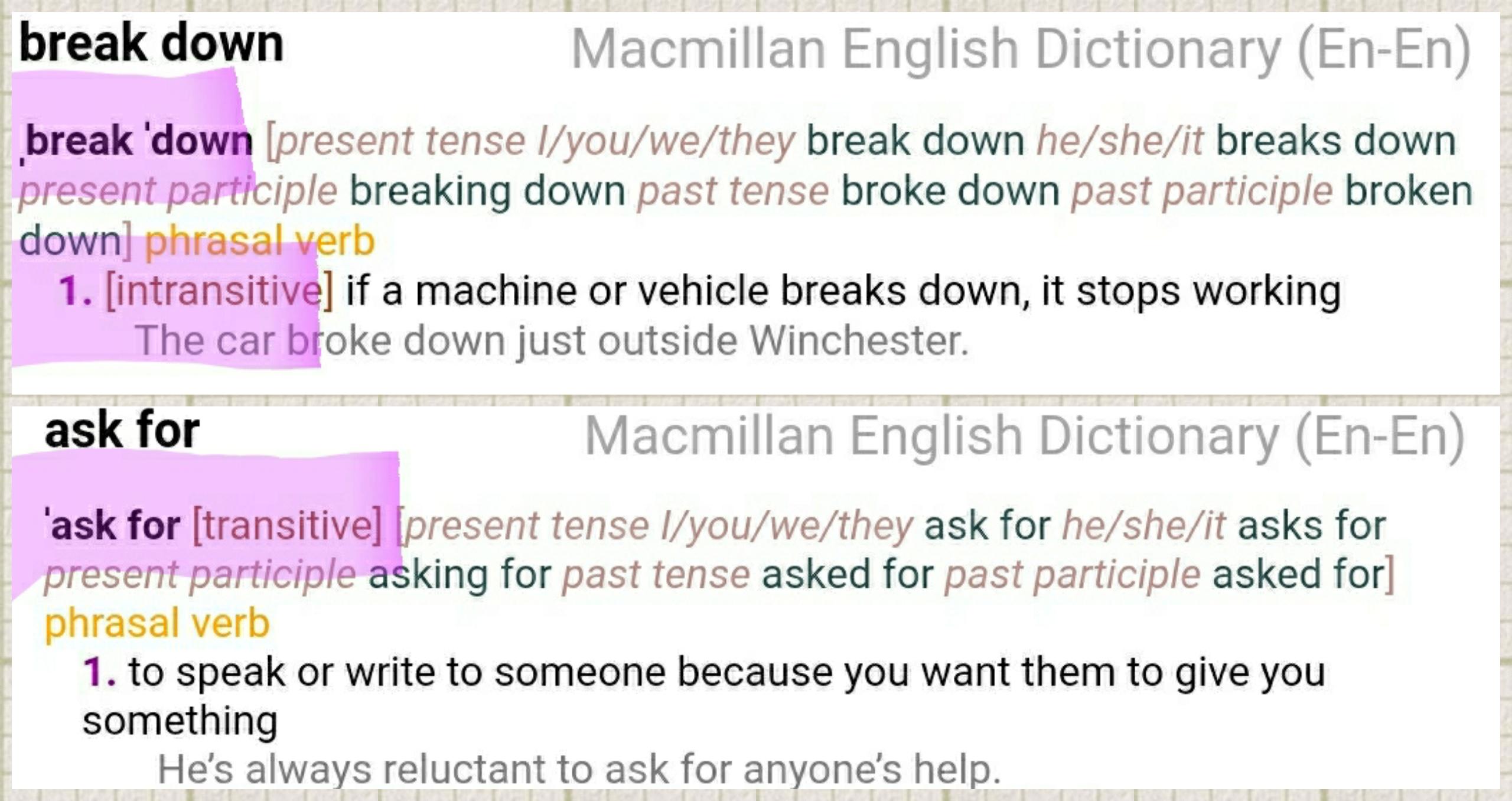 Пример работы со словарем