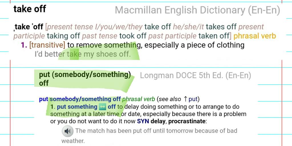 Как работать со словарем