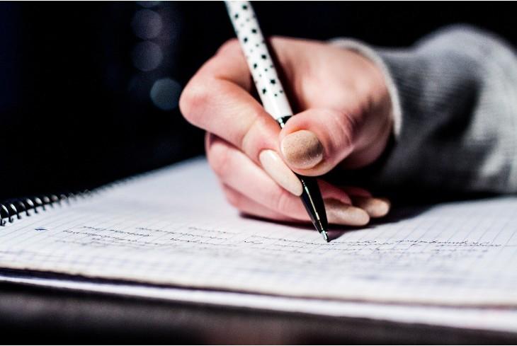 Звичка писати від руки англійською
