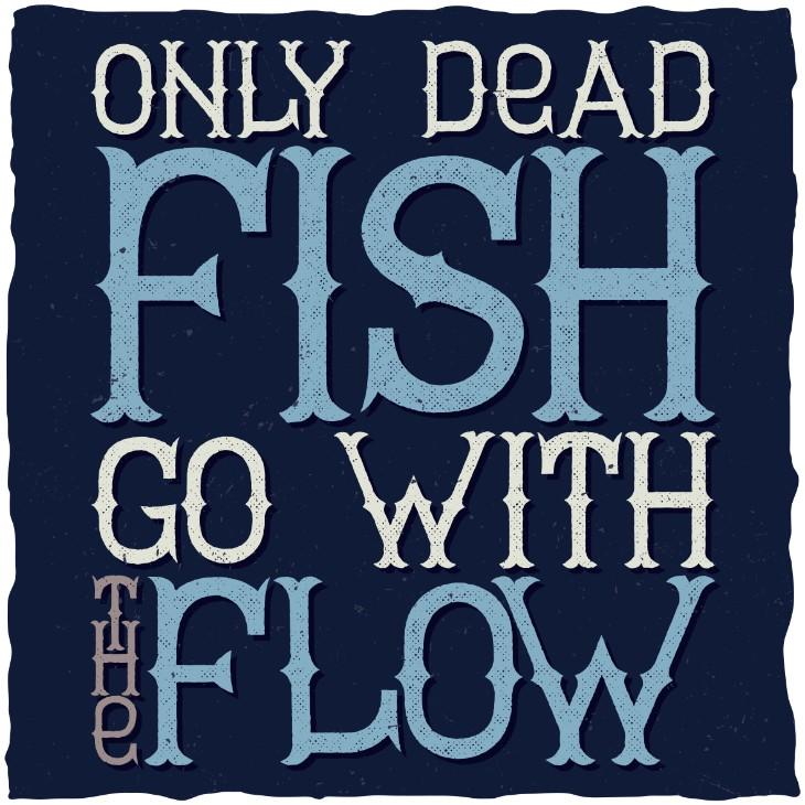 Ідіома go with the flow в англійській