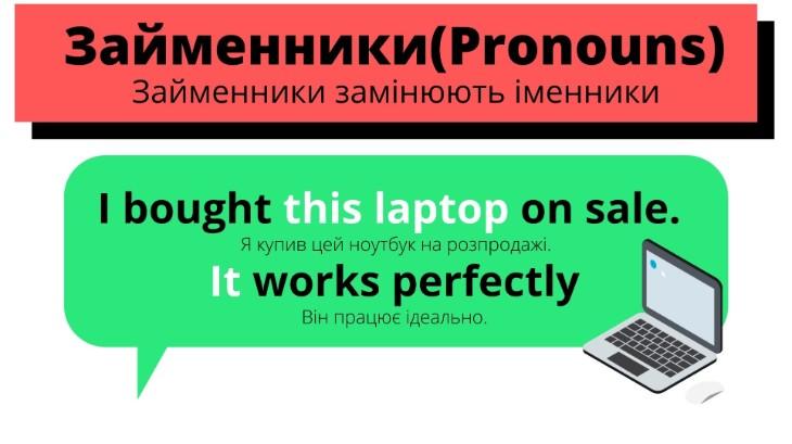 Функція займенників в англійській мові
